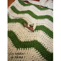 Bolso Morral De Algodón Tejido A Crochet