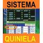 Software Estadístico Para Ganar La Quiniela Oferta + Regalos