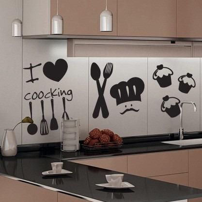 Vinilos decorativos looma para la cocina vinilos for Vinilos pared cocina