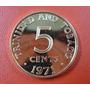 Trinidad Y Tobago Moneda 5 Centavos 1971