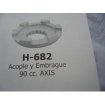 H 682 Acople Y Embrague Kawasaki 50ccadly-yamaha90ccaxis
