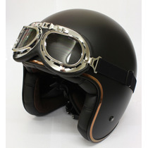 Casco Abierto Ls2 Of583 Bobber Black C Antiparra Devotobikes