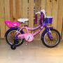 Bicicleta Sbk Recreo Rodado 16 Niña Paseo