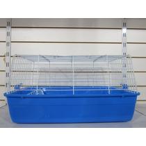 Jaula Para Cobayo/conejo R1, Importada, Base Plastico,
