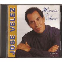 Jose Velez Cd Historias De Amor (1994) Cd Nuevo