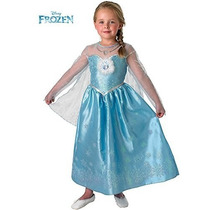 Disfraz Frozen Anna Elsa Vestido Original Disney