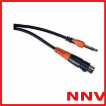 Cable Plug Stereo A Xlr Cannon Hembra 1 Metros Bespeco