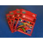 Lapices De Colores Cortos Simball 10 Cajas X 12 Unidades C/u