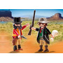 Muñeco Playmobil Duo Pack Sheriff Y Bandido - Art 5512