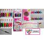 Set Kit Stamping+uñas+glitter+caviar+esmalteliner+apliques