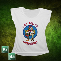 Remeras Diseños De Series. Breaking Bad. Los Pollos Hermanos