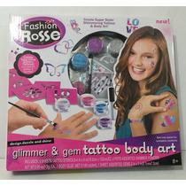Juego De Belleza Tatto Body Art Val Jx20010