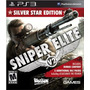 Sniper Elite V2 Silver Star Edition Ps3 Bonus 5 Dlc Packs