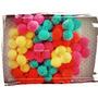 10 Pompones De Lana Colores A Elección 3,5 Cm -