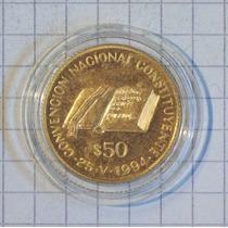 Argentina 50 Pesos Oro Convencion Constituyentes 1994