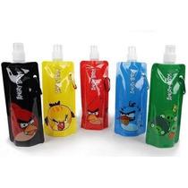 Set 4 Botellas Ecológicas Angry Birds, Ben 10, Hello Kitty