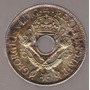 Papua Nueva Guinea Shilling 1938 Plata S/c