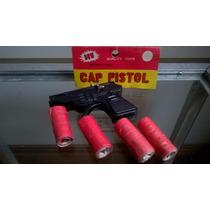 Pistola Juguete + 20 Rollos Cebitas- Devoto Toys