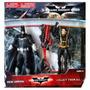 Muñeco De Batman Blister X2 Gordon Frio Guason 2 Caras Bruce