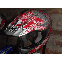 Casco Yohe Cross C 623 Niños Distribuidor X Menor Y Mayor
