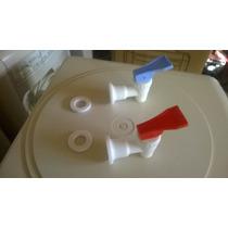 Canillas Para Dispenser Agua Frio Calor