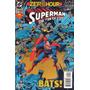 Superman Man Of Steel Y Batman Saga Zero Hour Año 94