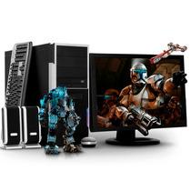 Pc Amd Quad Core Ati Radeon 4gb 500gb Monitor Led 19 Cuotas