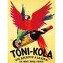 Toni Kola - Publicidad Importada De Robys, 40 X 30 Cm