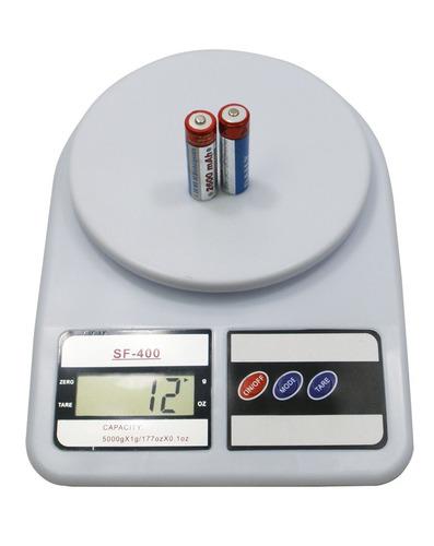Balanza de cocina digital electronica de 0 1 a 5kg sf 400 - Balanza cocina digital ...