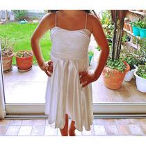 Vestido Nena Fiesta Comunión Talle 12