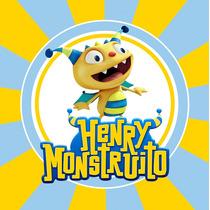 Kit Imprimible Henry Monstruito Candy Bar Invitaciones Deco