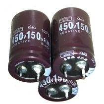 Capacitor Electrolitico 150mf X 450v Lote X 10u