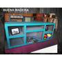Mesa Tv Vintage Patinada Retro Rustica Vintage