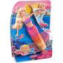 Muñeca Barbie Princesa Sirena 2 En 1