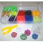 Loom Bands Caja Plastica Organizadora,600 Gomitas,dijes