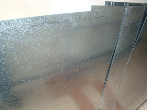 Chapa galvanizada lisa de 2 mts x mt calibre 25 199 for Casetas de chapa galvanizada precios