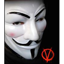 Mascara Plástica V De Vendetta, Fistas De Disfraces, Careta