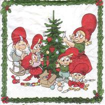 Servilletas Decoupage Navidad Pack X Unidad