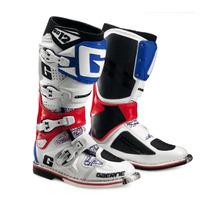 Gaerne - Botas Sg12 Motocross Blanco Rojo Azul