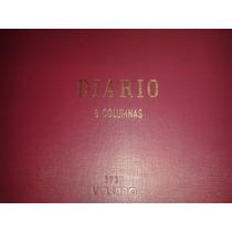 Libro Diario Contable De 8 Columnas Apaisado Tapa Dura