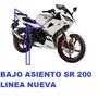 Cachas Bajo Asiento Motomel Sr 200 2014 Franco Motos Moreno