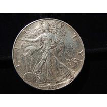 Moneda Onza 31.1 Grs Plata 999 Fina Ee.uu 1 Dolar Año 1987