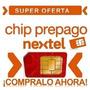 Chip Nextel +1 Numero Sin Limites - Factura Por Segundo