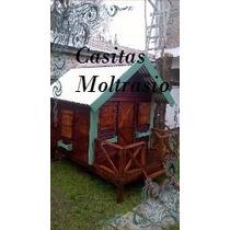 Casita Infantil De Madera Para Chicos(carpinteria Moltrasio)