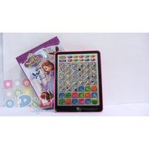Tablet Infantíl Princesita Sofía Didáctica Interactiva Envío