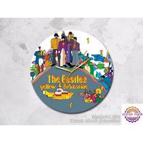 Reloj De The Beatles Yellow Submarine