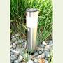 Lámpara Solar Con Estaca - Estaca Solar Mini Columna 2 Leds