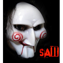 Mascara De Saw De Pvc Plástico Rígido! Careta, Halloween, Fx