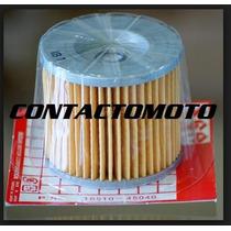 Filtro De Aceite Original Suzuki Gs 450 Ex En Contactomoto