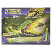 Pista De Autos Luminosa Con Lanzador Y Luces Neon 2 Modelos